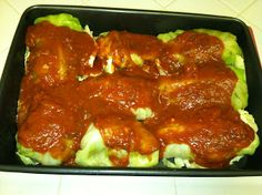 Yum Yum Get Some: Paleo Stuffed Cabbage Rolls