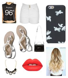 hanging by ryleesand on Polyvore featuring polyvore, fashion, style, Truly Madly Deeply, Jane Norman, Abercrombie & Fitch, Mackage, Marc by Marc Jacobs and Lime Crime