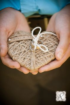 Sweet Wedding Details, Wedding Ring Holder Photography by Allison Ragsdale Photography in Durango CO
