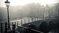 amsterdam photo wallpaper | ... Wallpaper Misty Amsterdam (1366 x 768). Desktop wallpapers and photos
