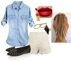 """""""Cutee"""" by makenzieambrose on Polyvore"""