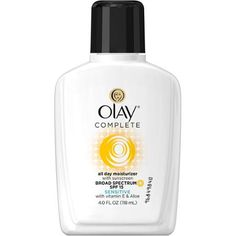 Olay Complete All Day Face Moisturizer with Sunscreen SPF 15 Sensitive Skin, 4 fl oz $8.12