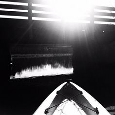 My favorite shot from today's paddle. #kayaking #monochrome - @norwoodsworld- #webstagram