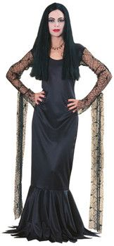 "Morticia Costume From ""The Addams Family"""