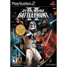 Star Wars Battlefront II, (star wars, video games, playstation 2, battlefront, ps2 games, games, adventure, action, 1, 17)