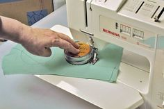 Sewing a perfect circle is tricky, but this method simplifies the process