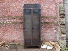 Industriële locker Industrial, vintage
