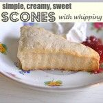 Love scones, yet never made them...gonna give these a try!