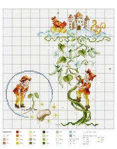 "Photo from album ""Fables & Fairy Tales to Cross Stitch on Yandex.Disk - Mobile LiveInternet Fables & Fairy Tales to Cross Stitch Cross Stitch Fairy, Cross Stitch For Kids, Cross Stitch Books, Cross Stitch Needles, Cute Cross Stitch, Cross Stitch Charts, Cross Stitch Designs, Cross Stitch Patterns, Cross Stitching"