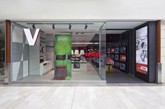 Vestel store by Dalziel and Pow, Istanbul store design