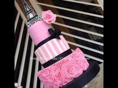 Free guide and hacks for quinceanera themes; This will give you the opportunity allow the guests be able to hear something they enjoy. Paris Birthday Cakes, Paris Themed Cakes, 15th Birthday Cakes, Paris Birthday Parties, Paris Cakes, Paris Quinceanera Theme, Quinceanera Themes, Bolo Paris, Eiffel Tower Cake