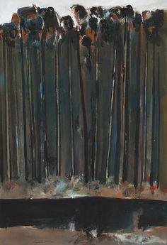 TREES IN ART • L'ARBRE DANS L'ART | Fred Williams (Australian, 1927-1982), Untitled,...