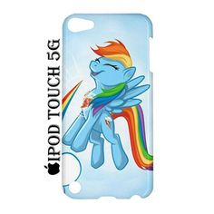 Rainbow Dash Cutie iPod Touch 5 5G 5th Hardshell Case Cover Rainbow Dash - PDA Accessories