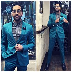 BEST DRESSED GUY INDEED <3 🙌🏻 👏🏻 Ayushmann Khurrana is making us swoon hard at GQ India #BestDressed awards in our bespoke menswear collection. Styled by the lovely Isha Bhansali For our latest menswear collection, head to our online store www.rohitandrahul.com