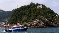 A boat service runs to and from the Island at Easter and from 1st June to 30th September. #SanSebastian #Island #sea