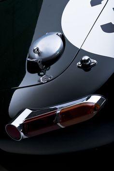 Low Drag Jaguar E Type.  https://grrc.goodwood.com/race/historic/goodwood-greats-jaguar-e-type-low-drag