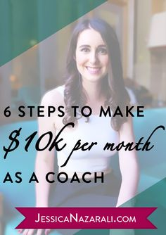 6 Steps To Make $10K Per Month As A Coach (even if you are a newbie!) Wow!! So beautiful bags 38.5