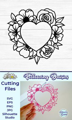 Jpg Eps Swirly Flower Quilt Block Svg Dxf Cut File Clipart Vector Art Floral Quilt Cut File Quilting Cut File Square Quilt SVG Png