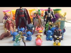 Candy Surprise Toy for Children | Super Hero, Batman, Many Surprise Toys Show | Toys Video 2017