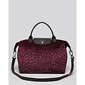 Longchamp Tote - Le Pliage Plumes with Strap