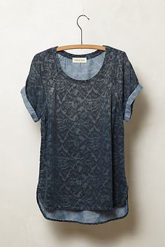 Chambray ikat leopard-y print. Should be a home run for me but I don't know how to feel about this. $78