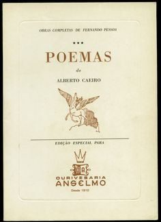 ALBERTO CAEIRO [FERNANDO PESSOA], capa de Almada Negreiros