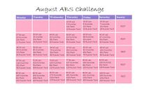 ABS Workout Challenges