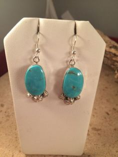 Alice Gabby Sterling Silver & Kingman Turquoise Signed