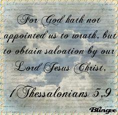 Bible verse 14. 1Thessalonians 5,9