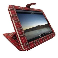 iPad Pro Case - Tartan - Give your iPad the ultimate in luxury carrying cases with the Tartan iPad Pro Case
