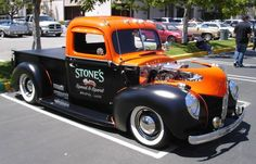 Stone's Speed & Sport 1940 Ford Shop Truck shared by Jack Barnes ~