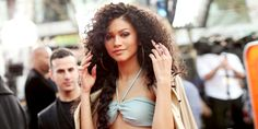 Zendaya Reveals She Used to Feel Insecure in Her Curly Hair  - ELLE.com