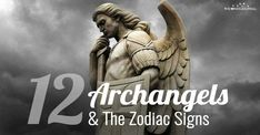 The 12 Archangels and their Connection With The Zodiac Signs Zodiac Signs Leo, Astrology Zodiac, Horoscope, Archangel Zadkiel, Leo Constellation Tattoo, Angel Guide, Religious Text, Prayer Book, Guardian Angels