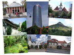Jena, my home for 1 school year-the planetarium, Jenturm, botanischergarten, marktplatz