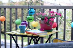How to Decorate a Small patio: Before and After