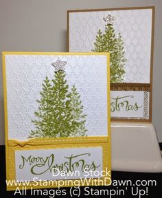 Stamping With Dawn: Non-Traditional Christmas - Stampin' Up!/8-18