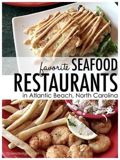 Suggestions for where to eat for delicious seafood and fun atmosphere in Atlantic Beach, NC. Atlantic Beach North Carolina, North Carolina Beaches, North Carolina Homes, Atlantic Beach Nc Restaurants, Quick Travel, Travel Tips, Beach Fun, Beach Trip, Best Seafood Restaurant