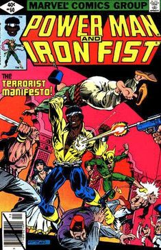 power man and iron fist - Bing images Comic Book Characters, Comic Book Heroes, Comic Books Art, Iron Fist Powers, Luke Cage Iron Fist, Luke Cage Marvel, Heroes For Hire, Comics Love