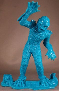 Marx monster toys, Creature from the Black Lagoon. Monster Toys, Monster Art, Mini Monster, Tv Movie, Free Christmas Gifts, Classic Horror Movies, Horror Film, Famous Monsters, Black Lagoon