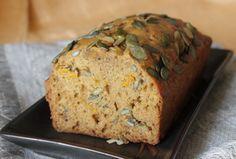 Dýňový chléb Banana Bread, Pumpkin, Baking, Recipes, Fitness, Pumpkins, Bakken, Recipies, Ripped Recipes