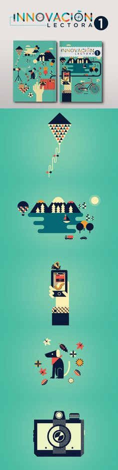 Innovación Lectora Secundaria 1 by Cherry Bomb Design Studio, via Behance