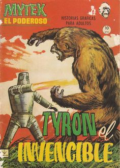 Time for the Ape of the Day!  Fun fact: Baron Pavor's first attempt at a robot assistant turned out to be a formidable combatant but an unsatisfactory typist.