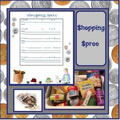 My class loved this activity! You can buy cheap grocery items, like the toddler kitchen items of cereal boxes, milk boxes, fruit, veggies, etc.