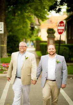 AELO Wedding | Tyler + Mike 6/26/14 | Horner Park, Chicago | Photo by Leo Garcia