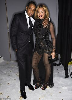 Beyonce and her husband Jay Z, looked every inch the power couple at Tom Ford's Fashion Show
