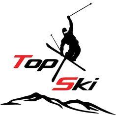 TopSki - radosť zo športu Top Ski, Nasa, Skiing, Character, Ski, Lettering