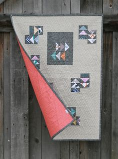 I love the idea of a manly quilt like this! (This Way, That Way Back by Fresh Lemons)