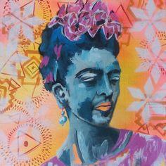 Frida Kahlo by Leandro Bompadre