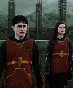 Harry Quidditch number 7 books, 7 years at Hogwarts, 7 horcrux's coincidence? Ginny's Quidditch number 6 Ginny has 6 older brother's and is in love with Harry 7 comes after six. Love how their Quidditch numbers suit them. Always Harry Potter, Harry Potter Cast, Harry Potter Characters, Harry Potter Fandom, Harry Potter World, Images Harry Potter, Harry Potter Tumblr, Hogwarts, Voldemort