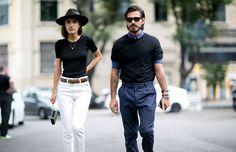 Esta semana se llevó a cabo la semana de la moda en Milán, donde una vez más pudimos ver diferentes looks y estilos desfilando por las calles. Nosotros te mostramos los mejores outfits de ellas y ellos.